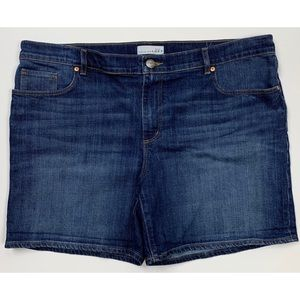 Ann Taylor Loft Stretch Jean Shorts Size 16 (40W)